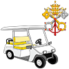 golf cart and museum