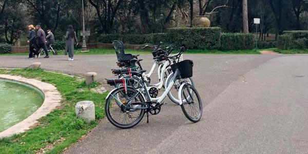 electric bike tour rome