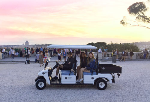golf cart tours