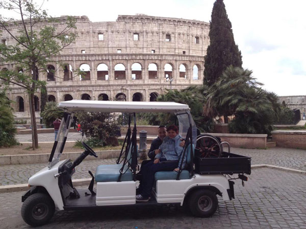 golf cart tour rome