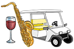 golf cart tour with a Jazz Aperitivo