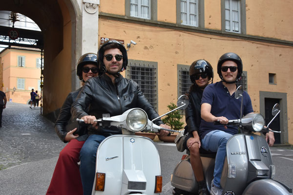 vespa countryside tour rome